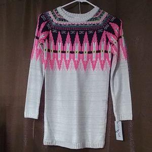 Kids long sweater